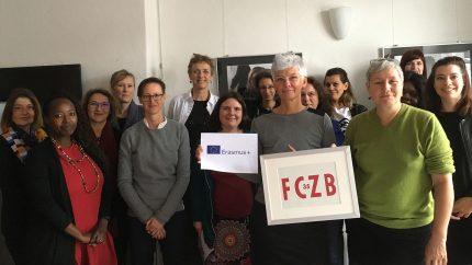Frauenservice Graz zu Besuch im FCZB