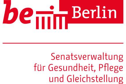 Logo Berlin Senatsverwaltung Gesundheit, Pflege und Gleichstellung