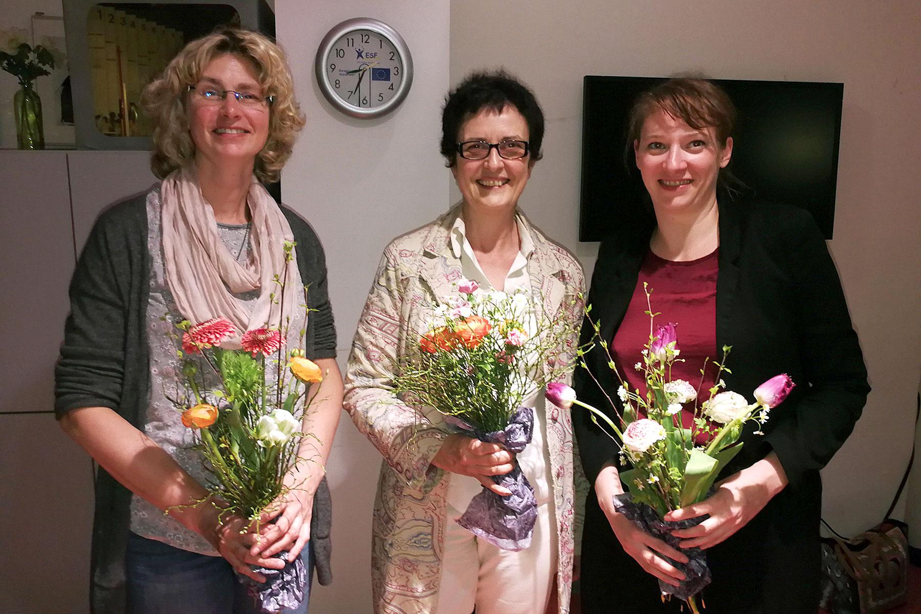 Heike Wiesner, Petra Heidenfelder, Johanna Voll