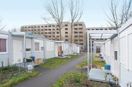 Unterkunft für Geflüchtete Foto: Kai-Uwe Heinrich © Tagesspiegel