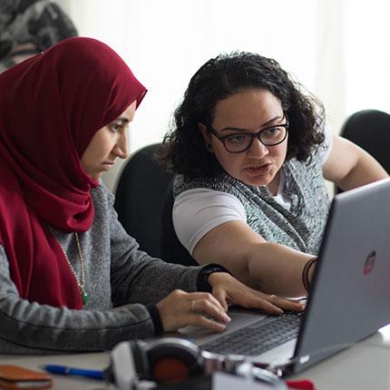 Berufliche Orientierung und berufsbezogenes Deutsch für Migrantinnen