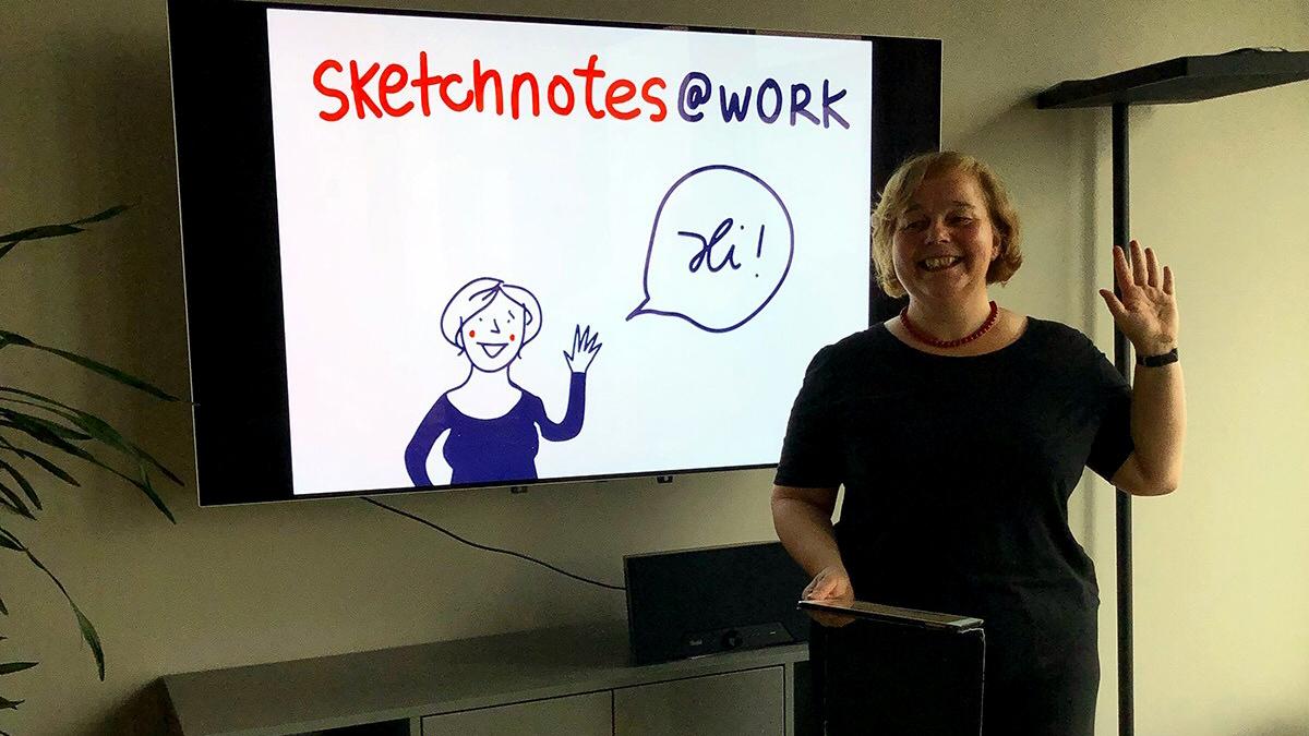Conni Eybisch-Klimpel: #Expertinnenwissen Skectnotes