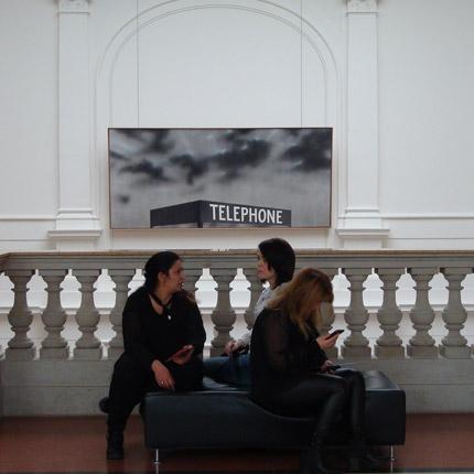 Teilnehmerinnen Berufliche Orientierung für Migrantinnen im Museum für Kommunikation