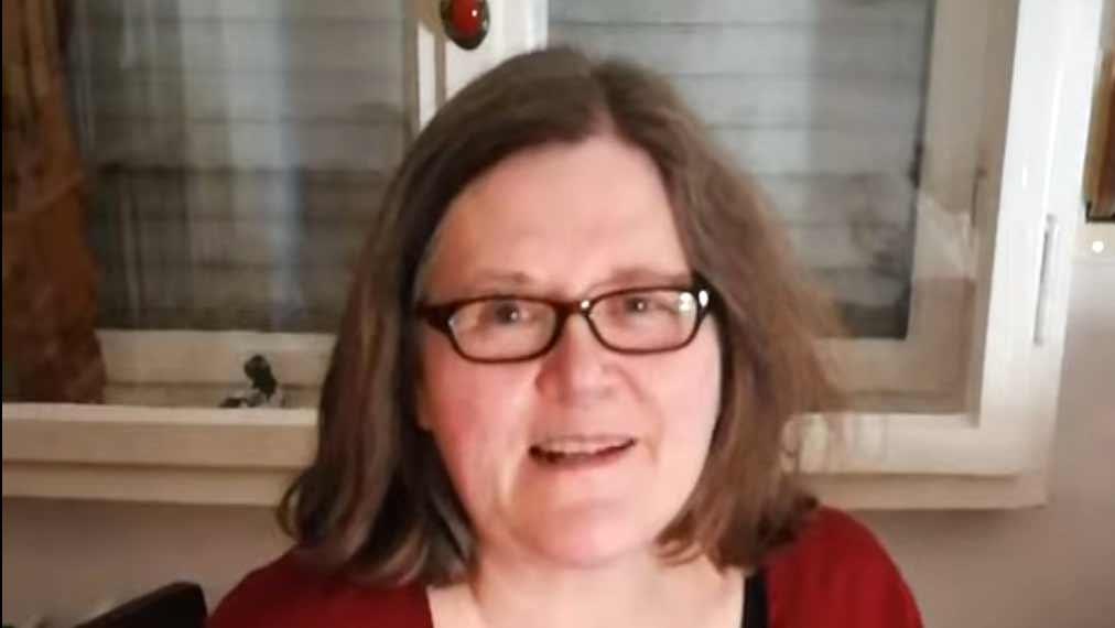 Arbeiten allein zu Haus: Sibylle Würz aus dem Home Office