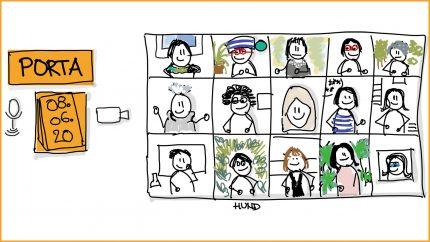 Porta: Bürokommunikation mit Sketchnotes