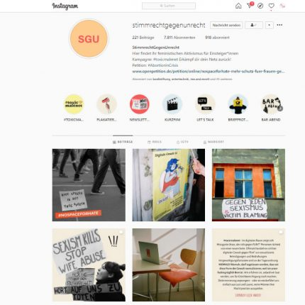 Workshop Instagram-Stories - Wachmacher im politischen Aktivismus
