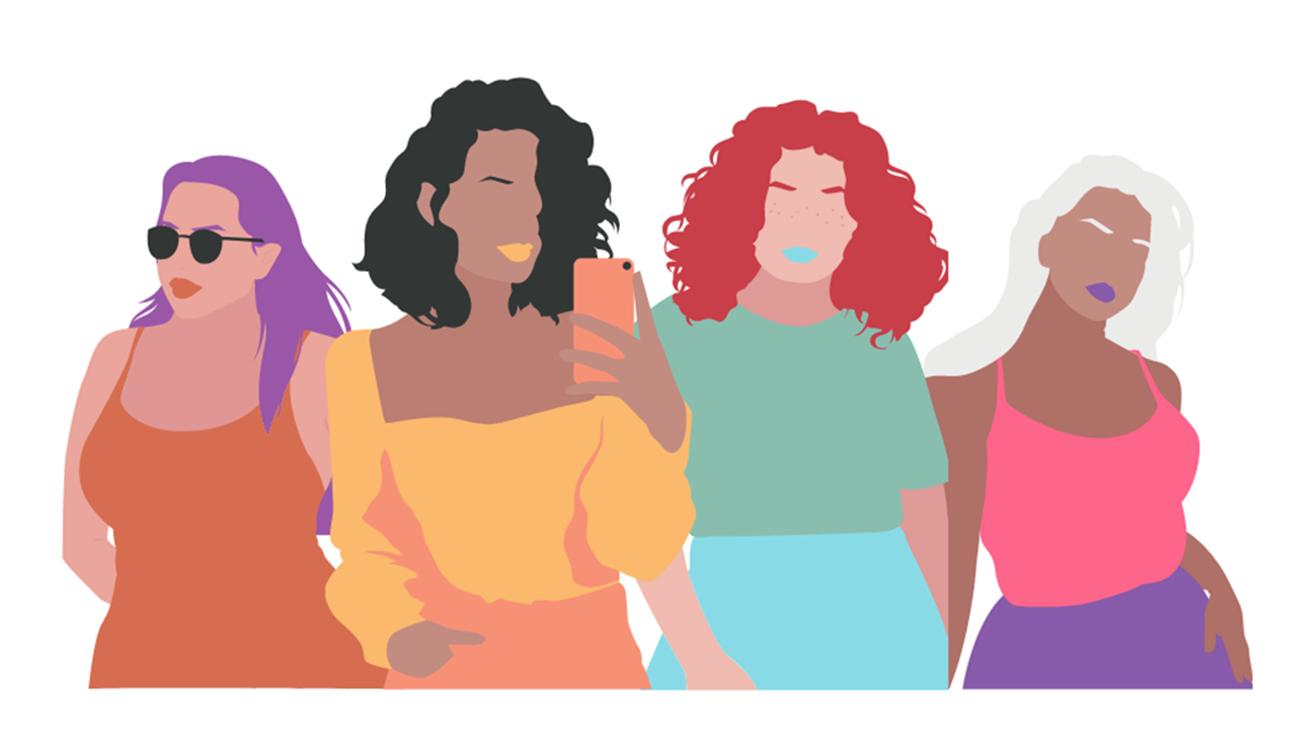 Im Projekt DigitalAngels qualifizieren sich Mädchen* und junge Frauen* als ehrenamtliche Medienscouts für das Thema digitale Selbstverteidigung.