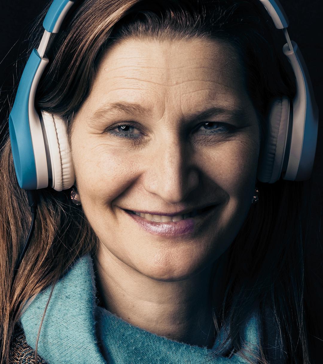 Porträt Heike Bossmann, Foto John Colton, Browse Studios