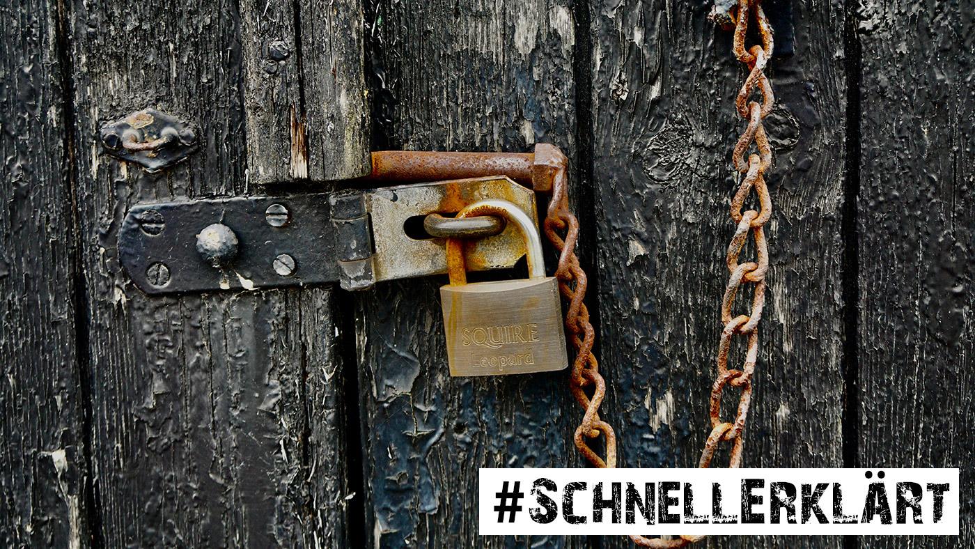 #SchnellErklärt: Passwortmanagement – sichere Passwörter erfinden und verwalten ©Georg Bommeli/Unsplash