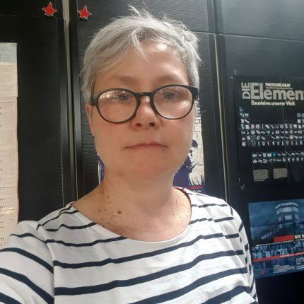 Arbeiten allein zu Haus: Dr. Karin Reichel, Geschäftsführerin des FCZB ©privat