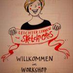 Impressionen aus dem Sketchnotes-Workshop