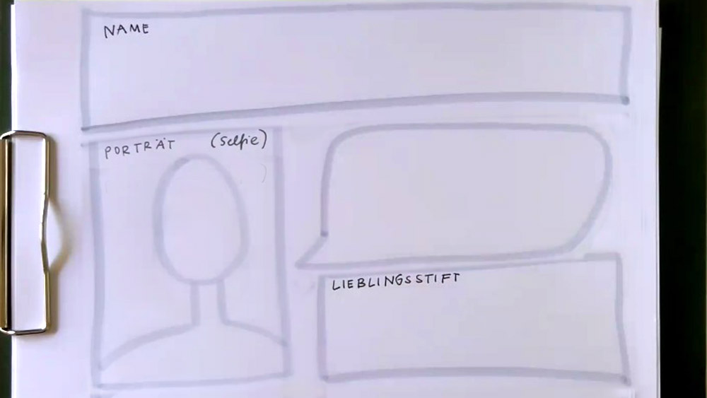Und wer bist du im Sketchnotes-Porta-Workshop? ©Conni Eybisch-Klimpel