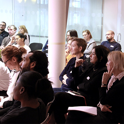 Fachtagung Digital Empowerment Publikum, Foto: Lenza Severin (FCZB)