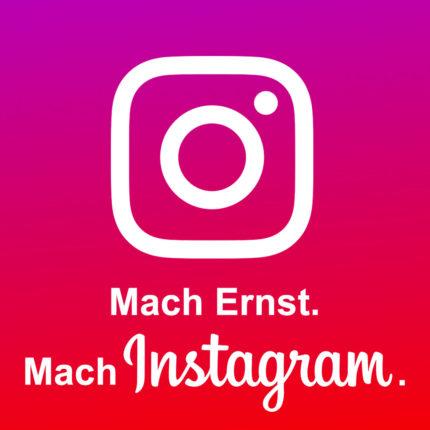 Mach Ernst. Mach Instagram. Workshop für Frauen, die Instagram berufich oder strategisch nutzen wollen.