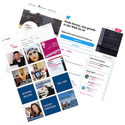 Twitter-Instagram-Workhsop im FCZB: Unverzichtbare Tools für Multiplikator*innen